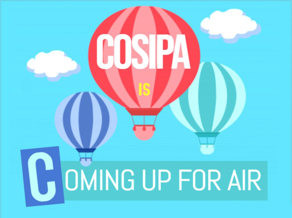 COSIPA coming up for air