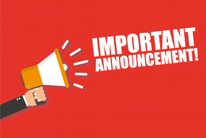 COSIPA Fall 2020 Important Announcement