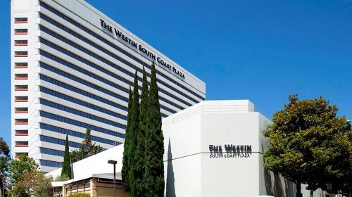 Upcoming COSIPA Meetings: An image of the Westin in Costa Mesa, CA